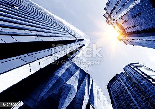 istock Windows of Skyscraper Business Office 847260504