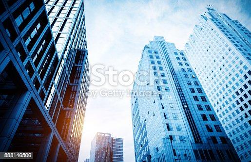 istock Windows of Skyscraper Business Office 888146506