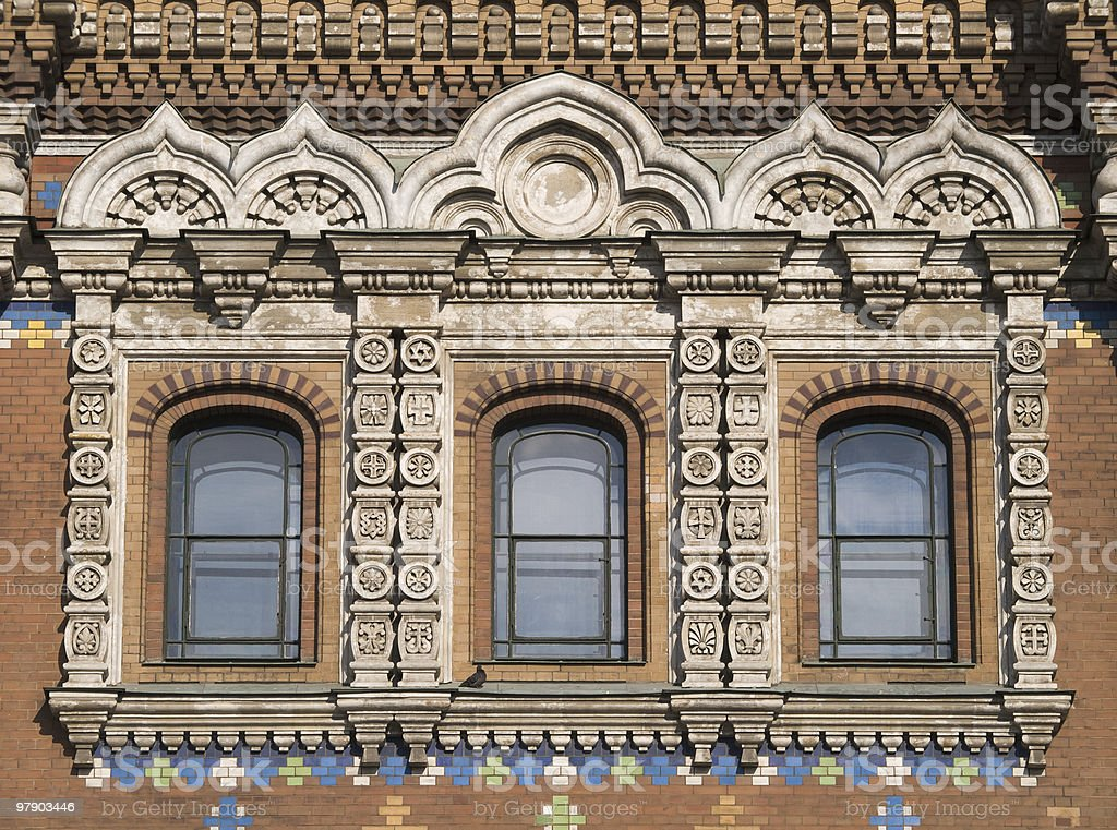 Windows of temple royalty-free stock photo