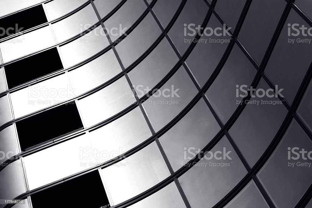 Windows perspective royalty-free stock photo