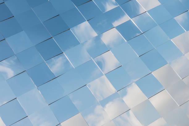 Windows reflection stock photo