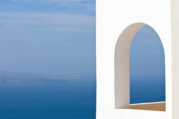Fenster der blue ocean – Foto