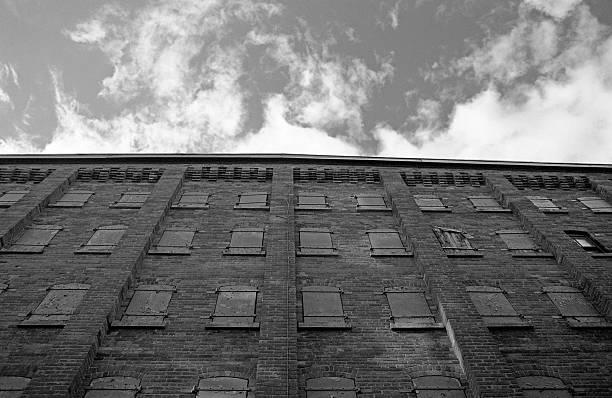Windows to the sky stock photo
