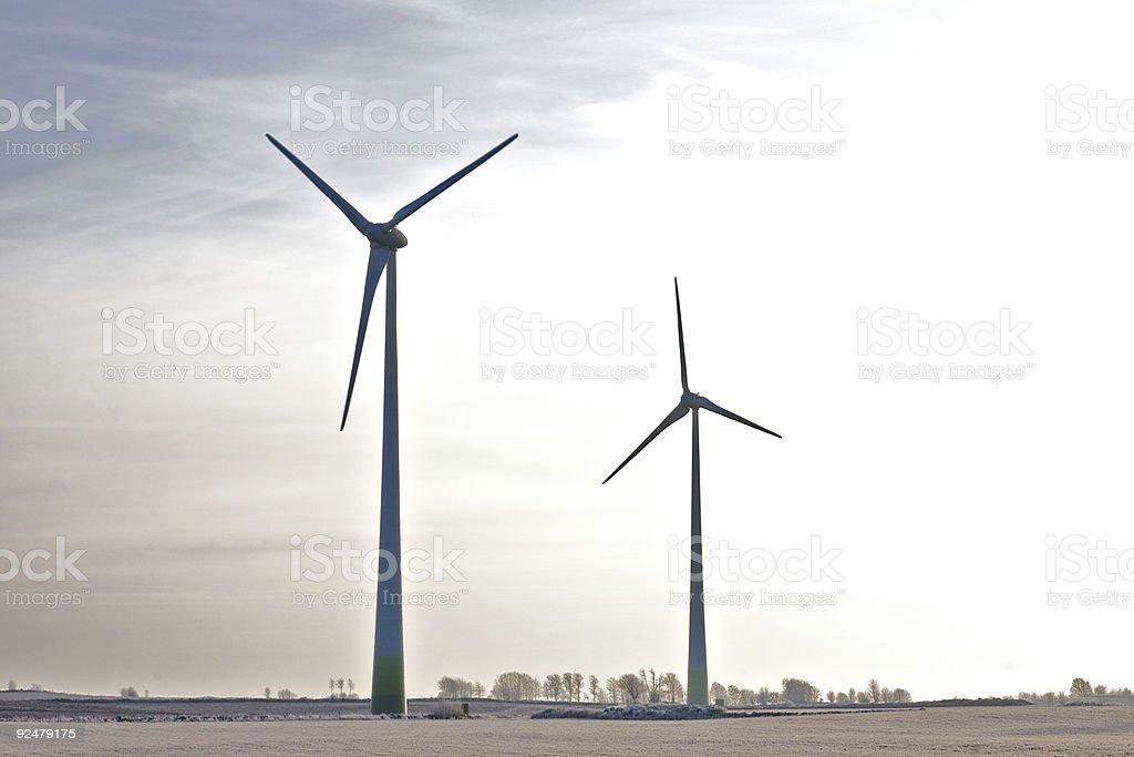 Wind-power Generators royalty-free stock photo