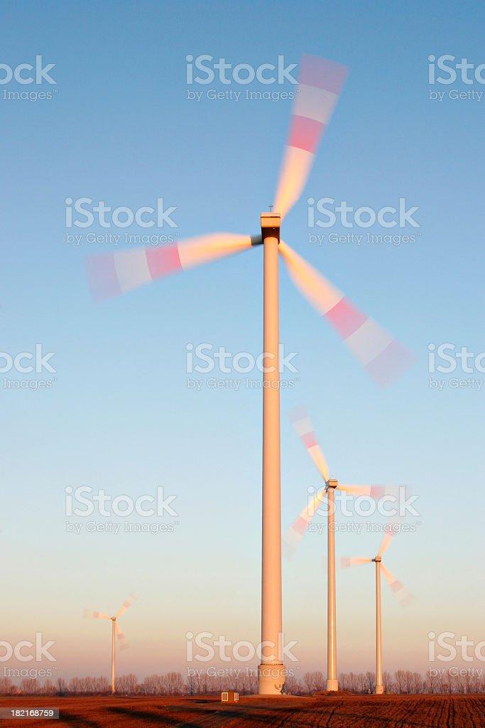 Windpower II stock photo
