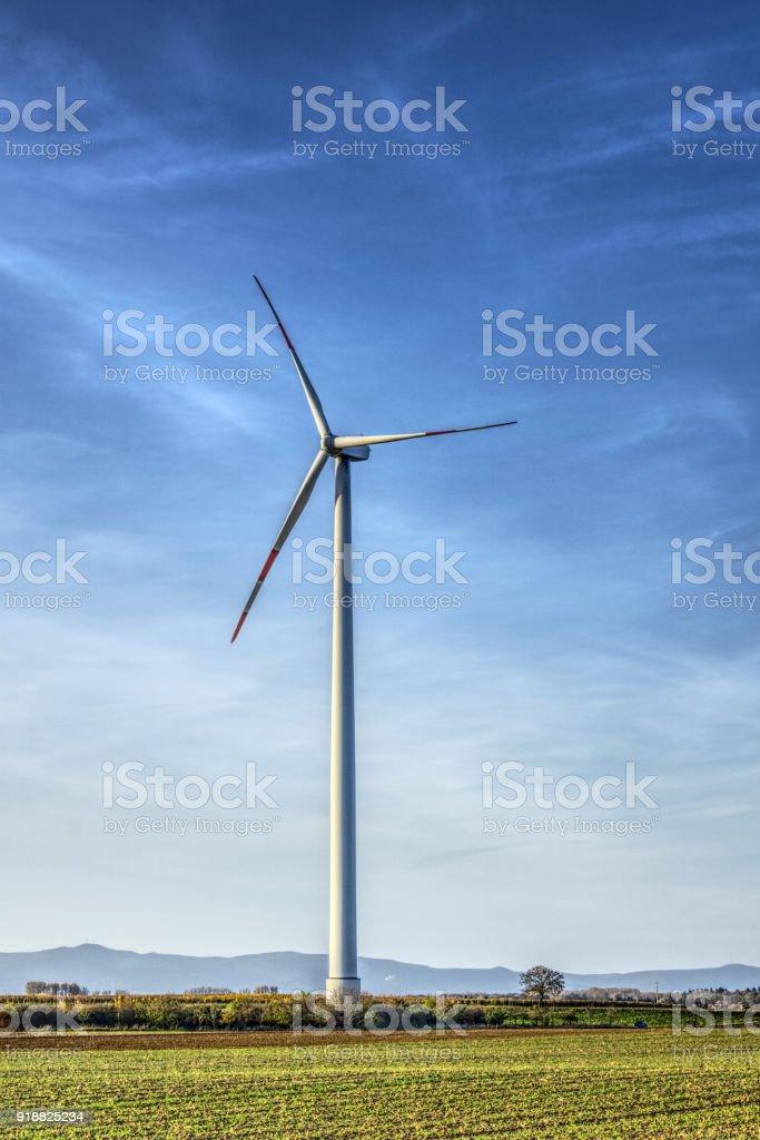 Windrad stock photo