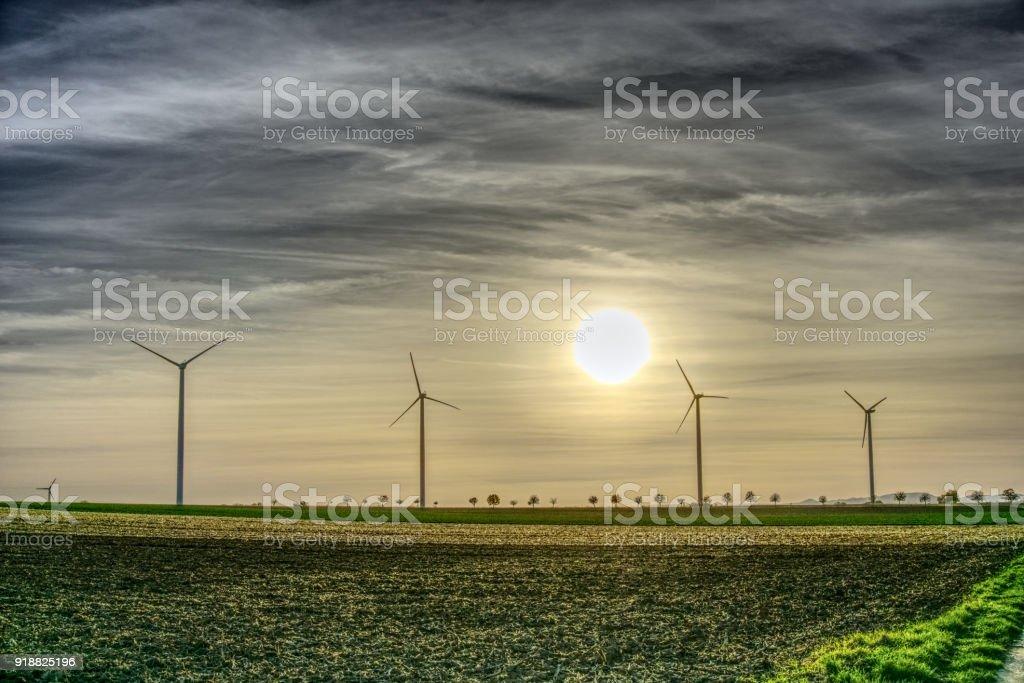 Windräder stock photo