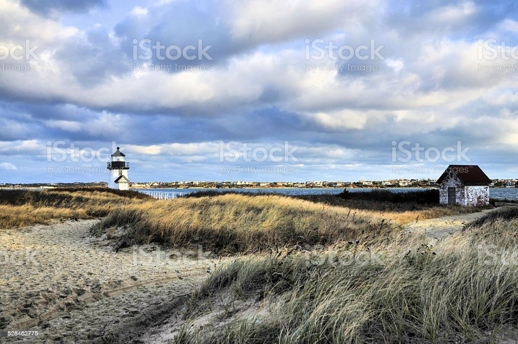 Winds of Brant Point stock photo