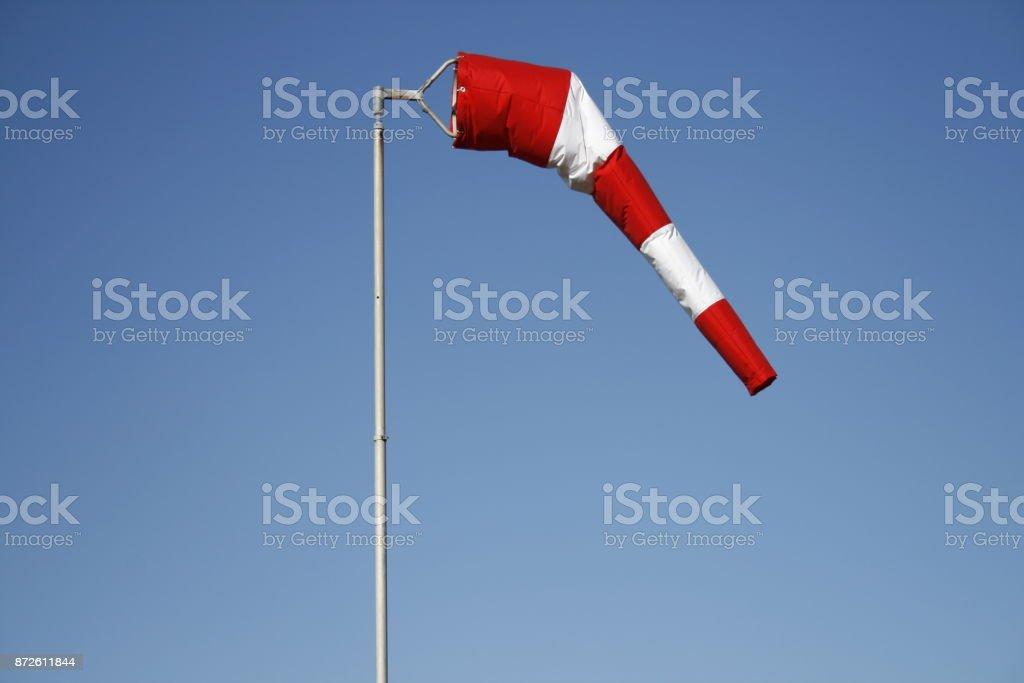 Windsack stock photo