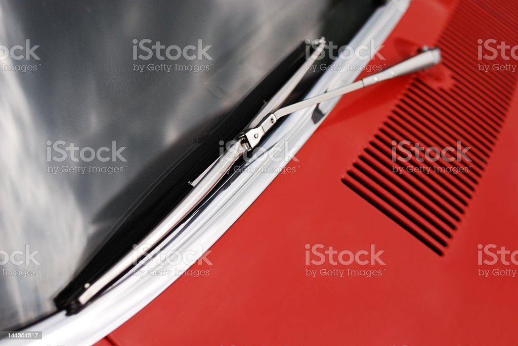 Windshield wiper royalty-free stock photo
