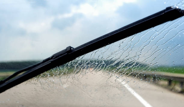 Windshield wipers Windshield wipers windshield wiper stock pictures, royalty-free photos & images