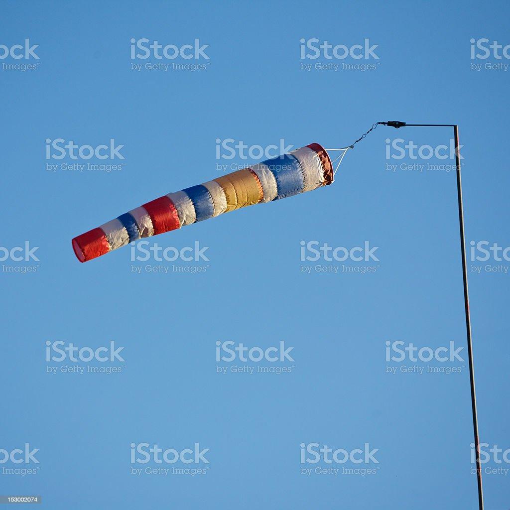Windsock stock photo