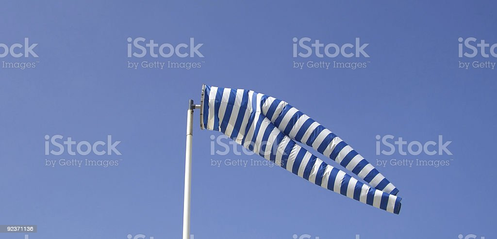 windsock royalty-free stock photo