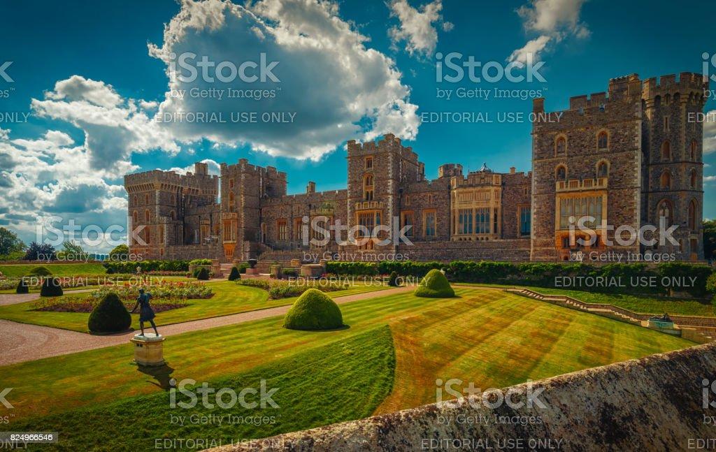 Windsor Castle, UK stock photo