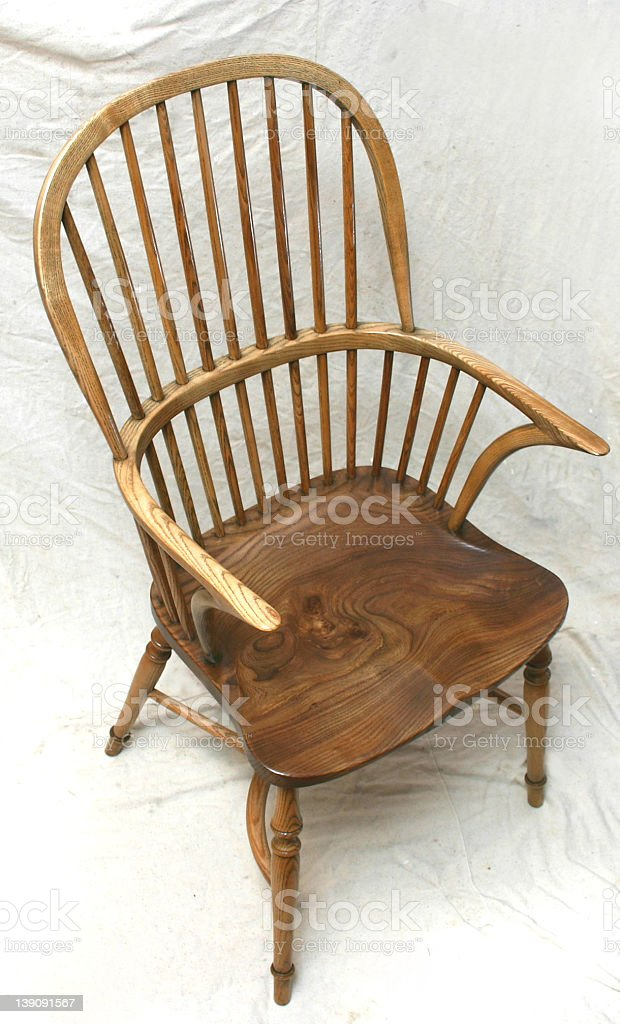 Windsor Chair stock photo