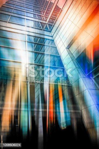 istock Windsor, Ontario Skyline Abstract 1058606024