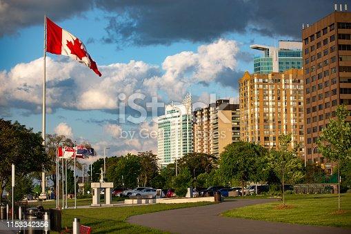 The Windsor, Ontario Skyline