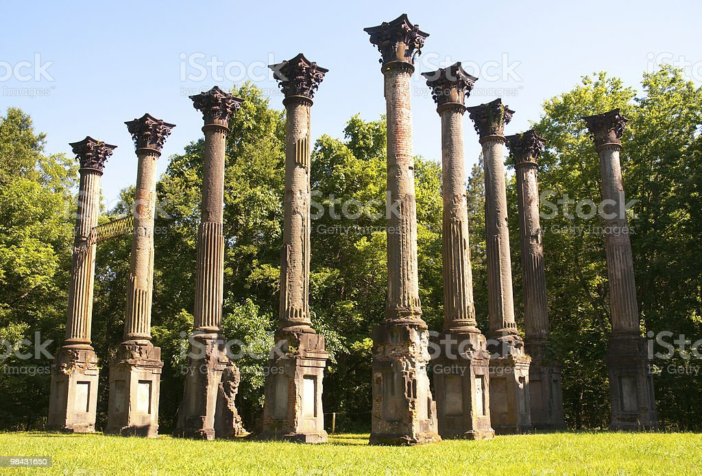 Windsor Ruins royalty-free stock photo