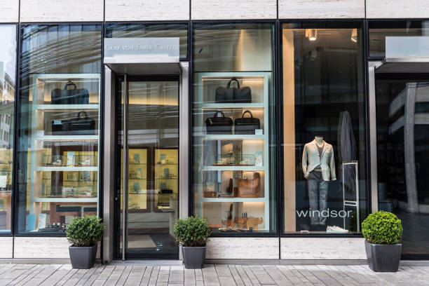 Windsor shop in Dusseldorf, Germany stock photo