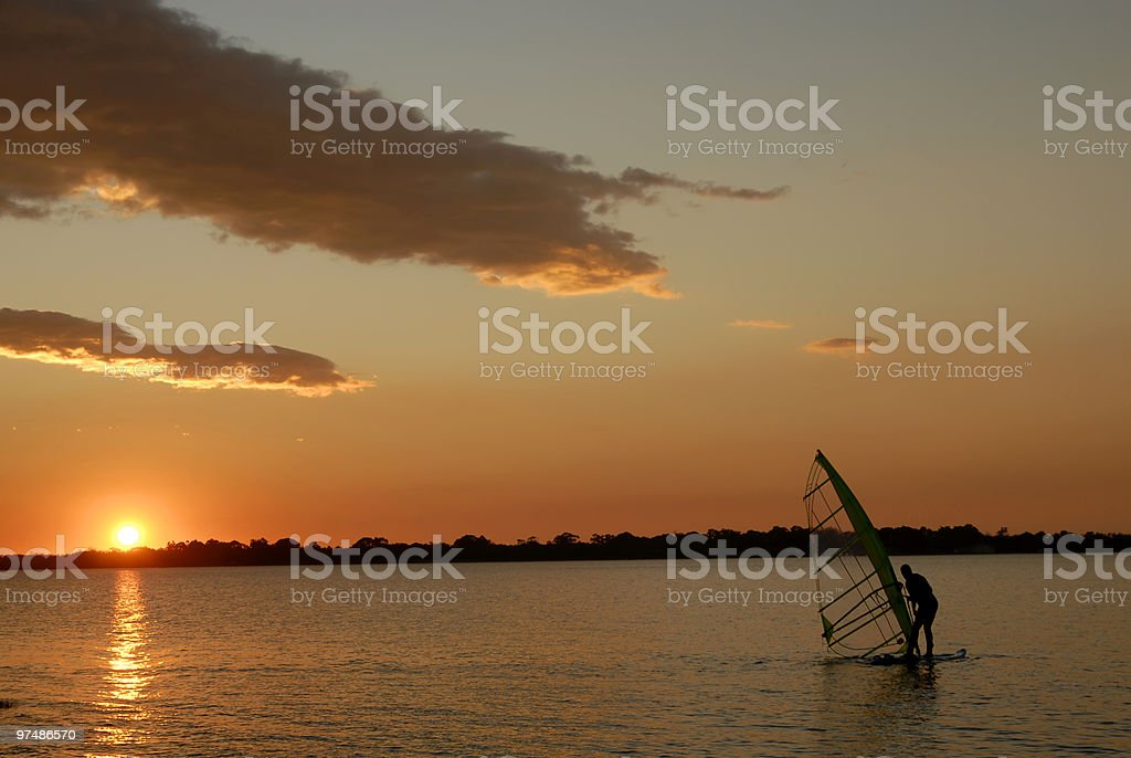 windsurf royalty-free stock photo