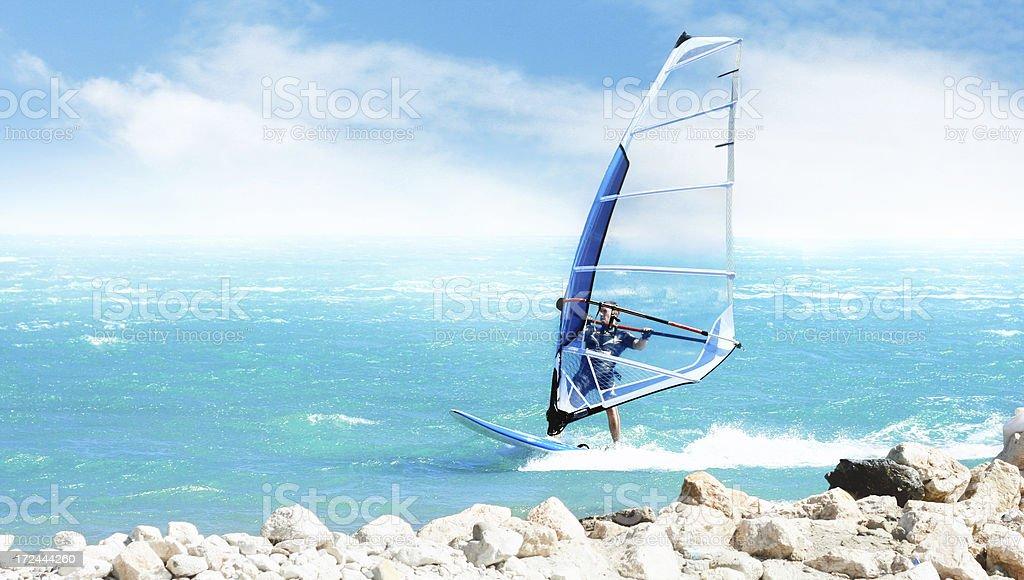 Windsurfer foto