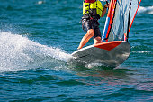 Windsurfer close-up