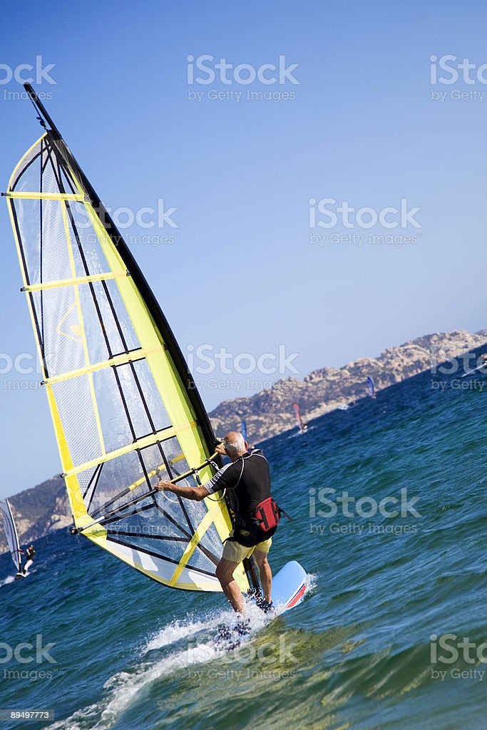 windsurfers zbiór zdjęć royalty-free