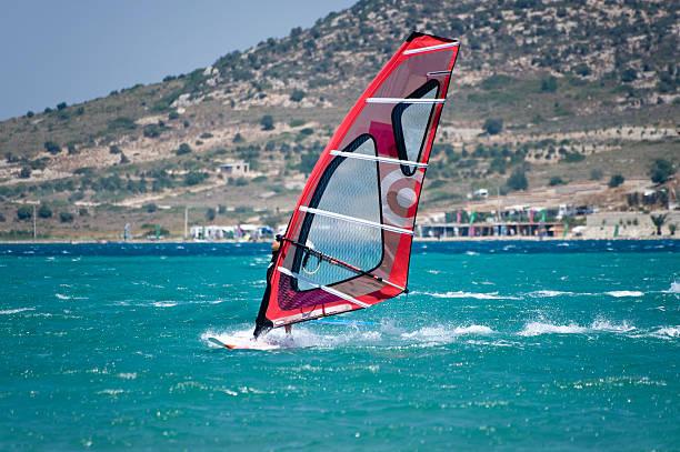 Windsurfingu na Alacati, Cesme, Turcja – zdjęcie