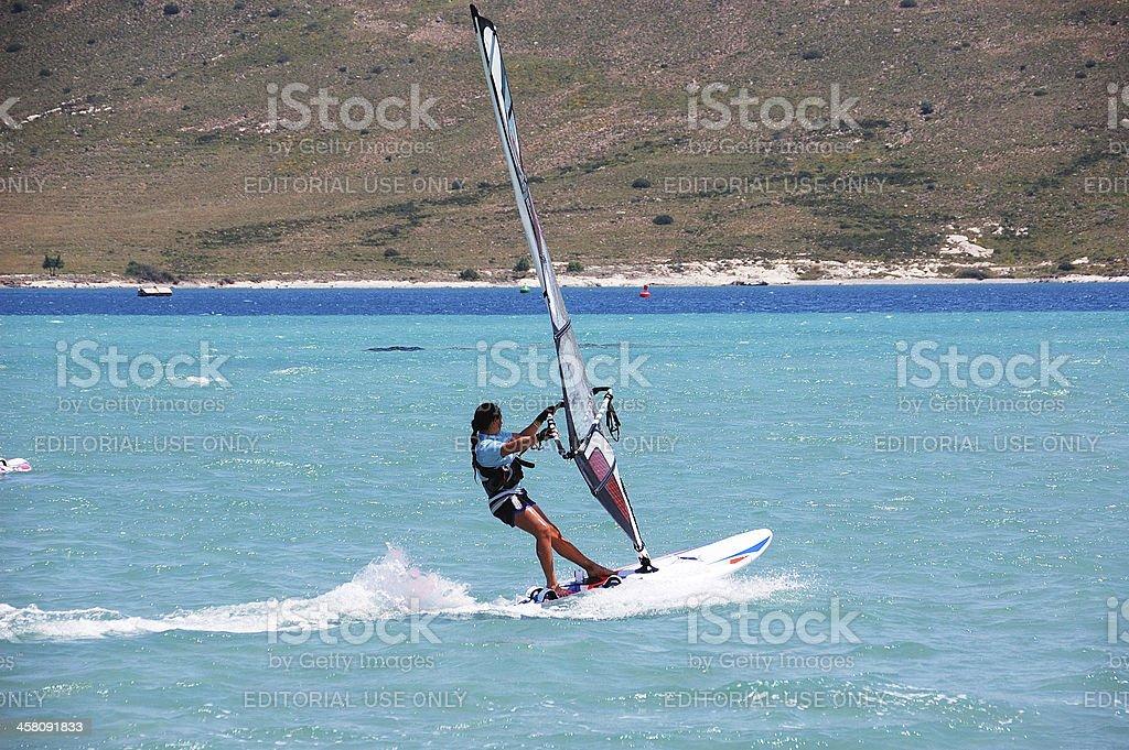 Windsurfing in Alacati foto