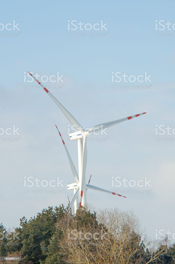 Windturbine generator royalty-free stock photo