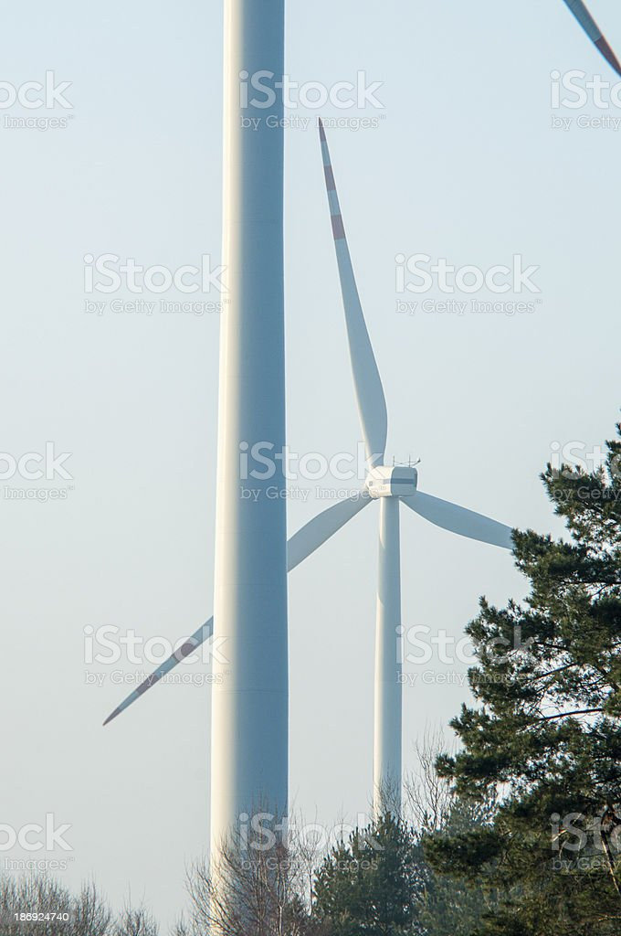 Windturbine generator royalty-free stock photo