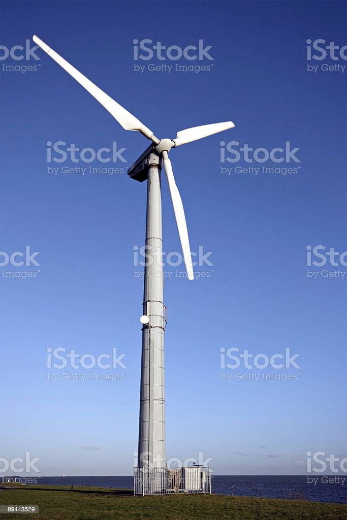 Windturbine  in the Netherlands royalty-free stock photo