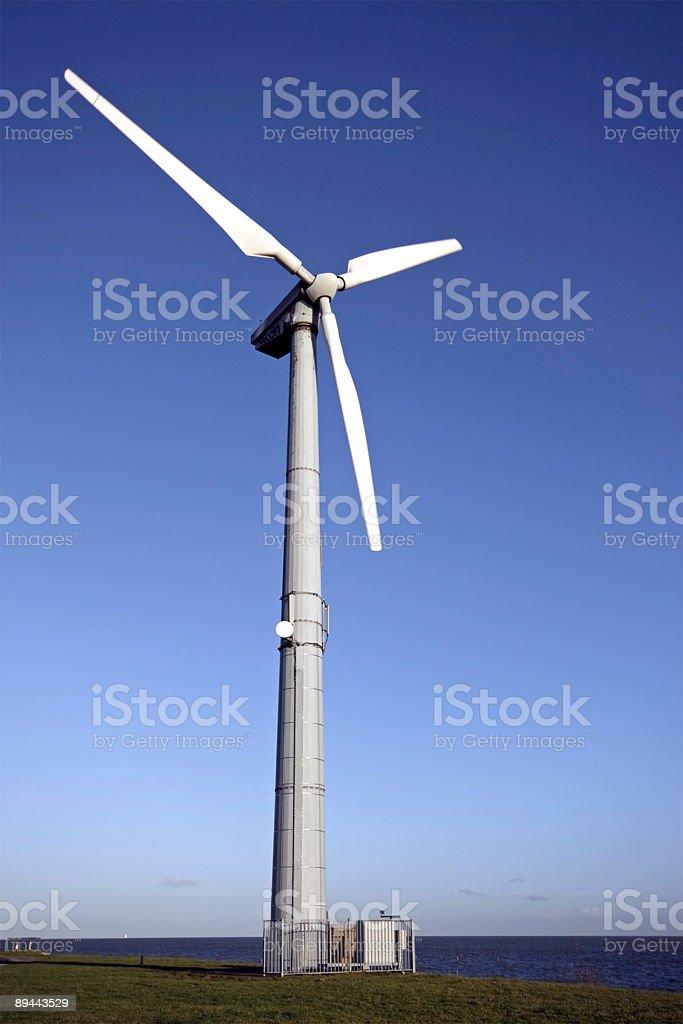Windturbine aux Pays-Bas photo libre de droits