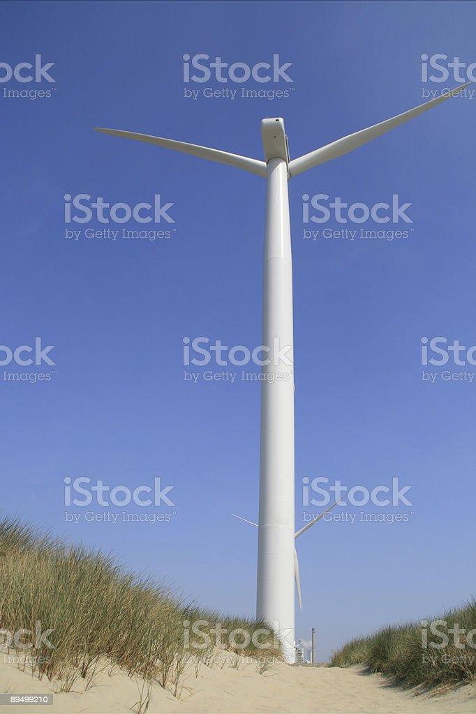 Windturbine in Olanda foto stock royalty-free