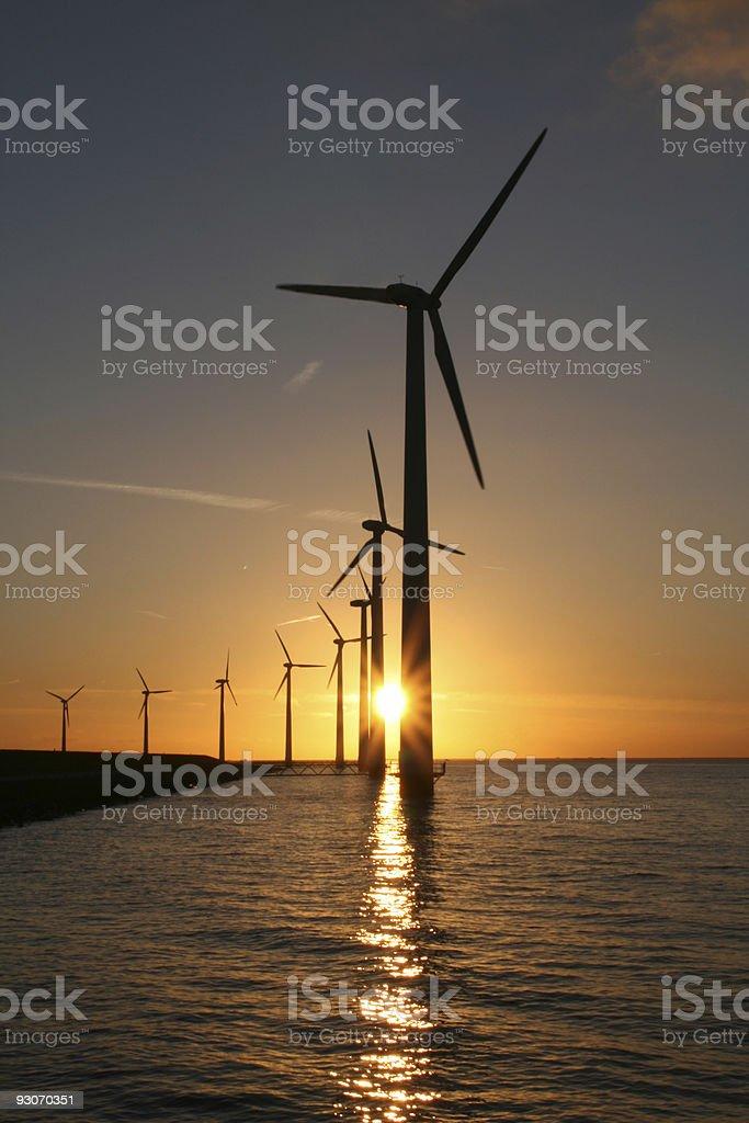 Windturbine royalty-free stock photo