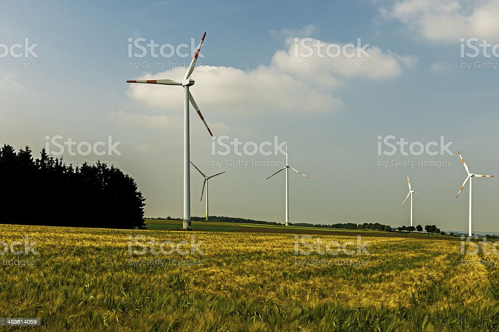 Windturbines royalty-free stock photo
