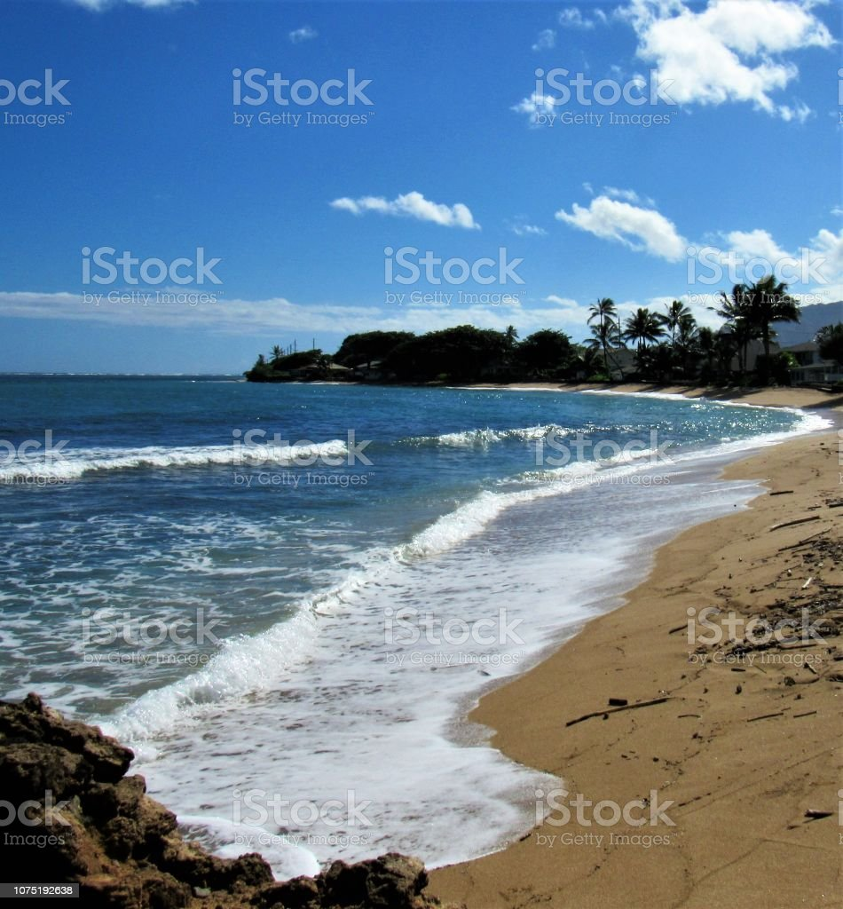 Windward Coast Line Of Oahu Hi From The Town Of Kaneohe To