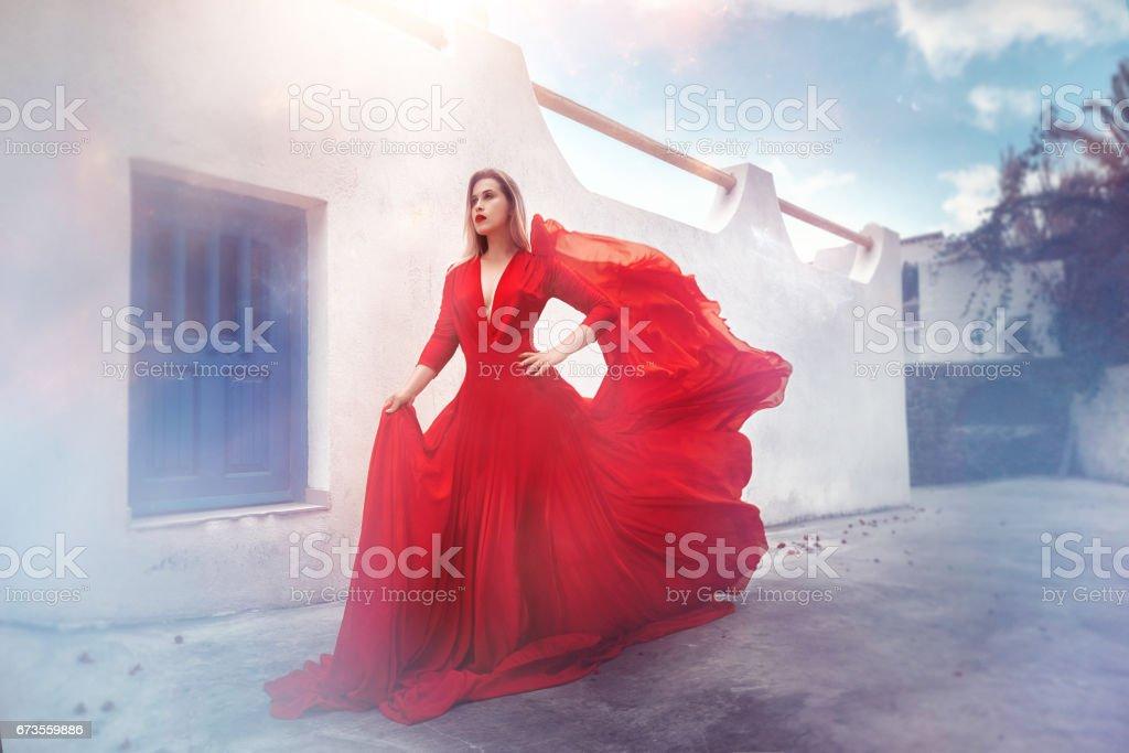 windy feelings royalty-free stock photo