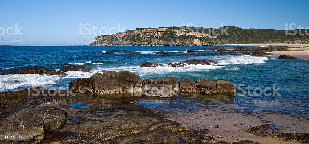 Windy Harbor in Point D'entrecasteaux National Park stock photo