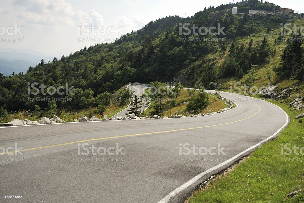 Windy Road royalty-free stock photo