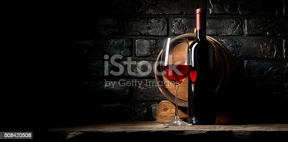 istock Wine and bricks 508420508