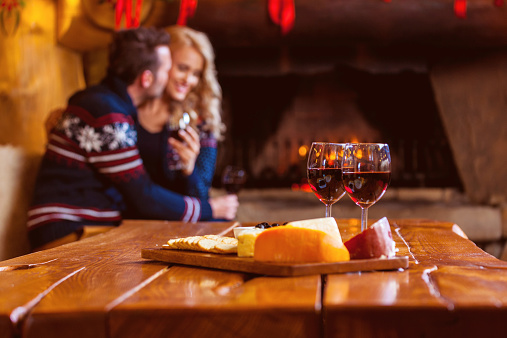 Wine And Cheese Stock Photo - Download Image Now