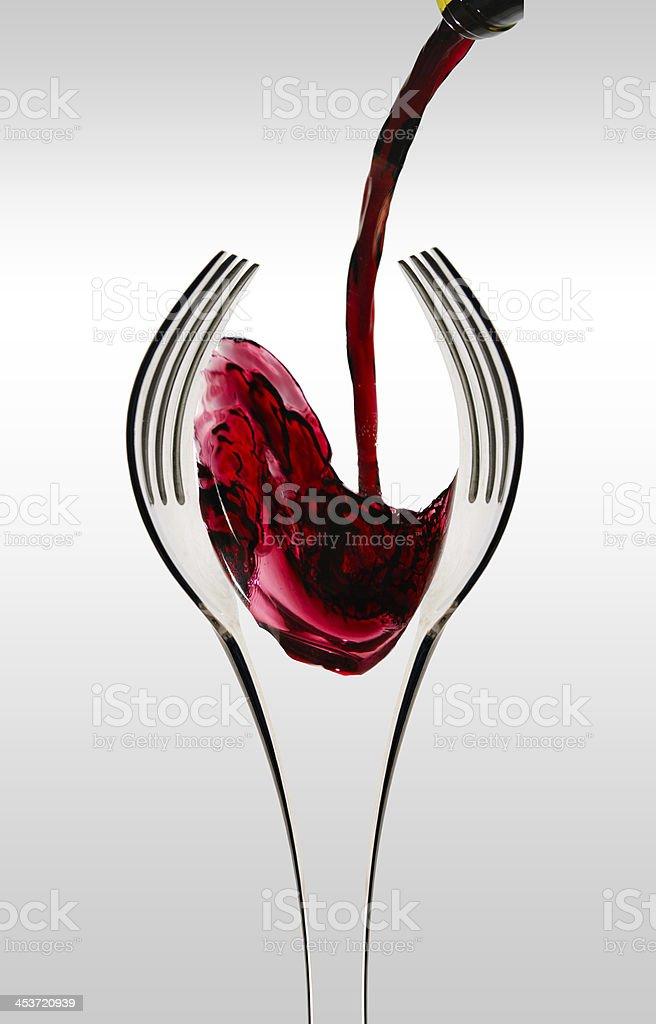 Wine and Dine too stock photo