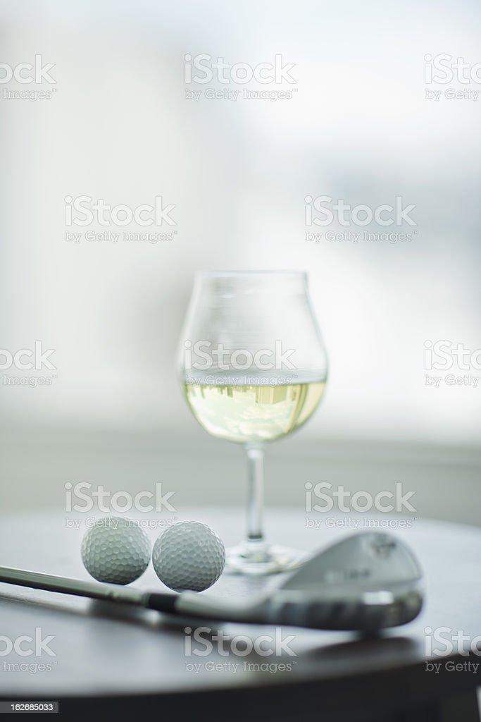 Wein und golf – Foto