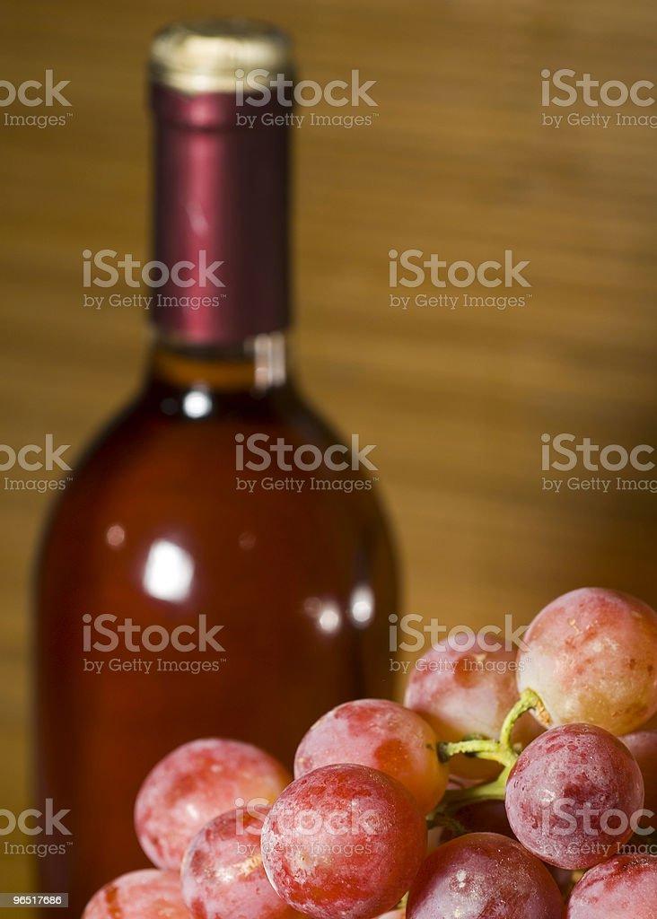 Wina i winogron zbiór zdjęć royalty-free