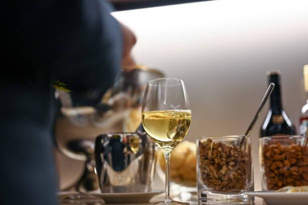 Wein und Nüsse – Foto