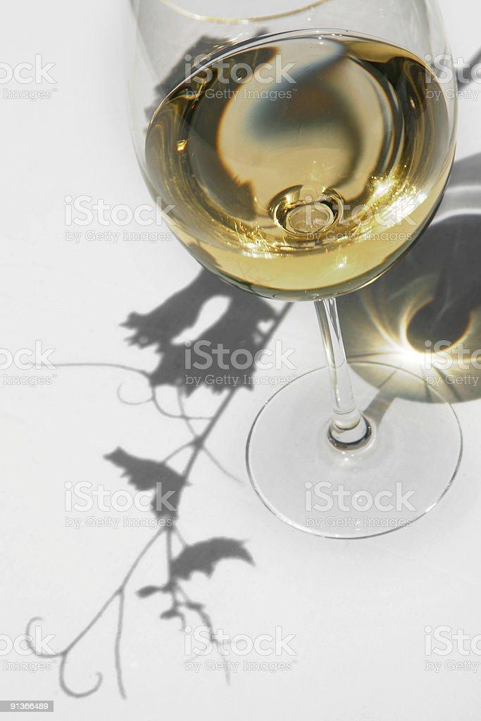 Wine and Vine royalty-free stock photo
