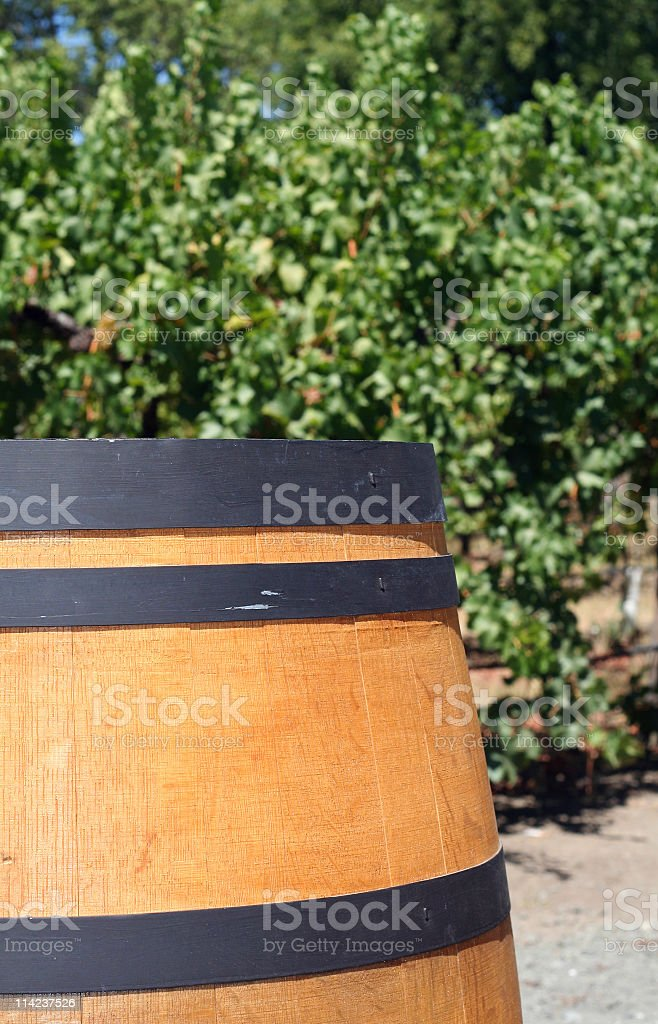 Wine Barrel royalty-free stock photo
