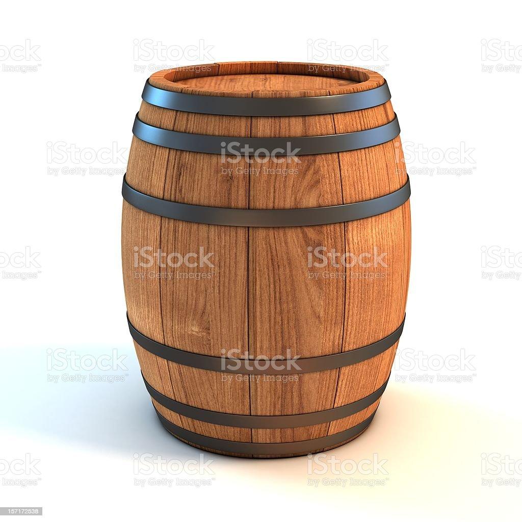 wine barrel stock photo