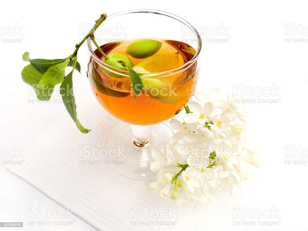 Wine berry flowers royalty-free stock photo